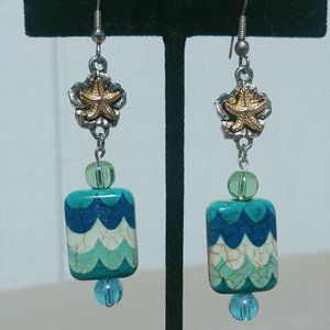 Jewelry - Sea Inspired Starfish Earrings